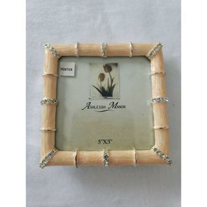 Ashleigh Manor Picture Frame PinkBamboo Jeweled